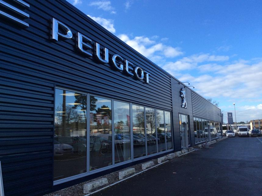 Mise à l'image de la marque Peugeot